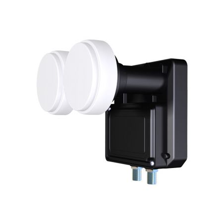 LNB Inverto Black MonoBlock Twin 6º para 80 cm 0.2dB 2 Salidas Envio Gratis
