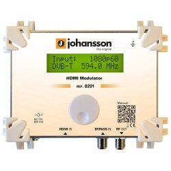 Johansson 8201: Modulador HDMI a DVB-T y ISDB-T