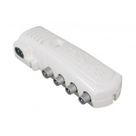 "Amplificador interior de vivenda Televes 2 salidas + TV G. 18/10+20/12 dB Vs 105+110 dBμV ""F"" - [BL]"