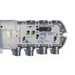 Modulador domestico Televes VHF-UHF con display