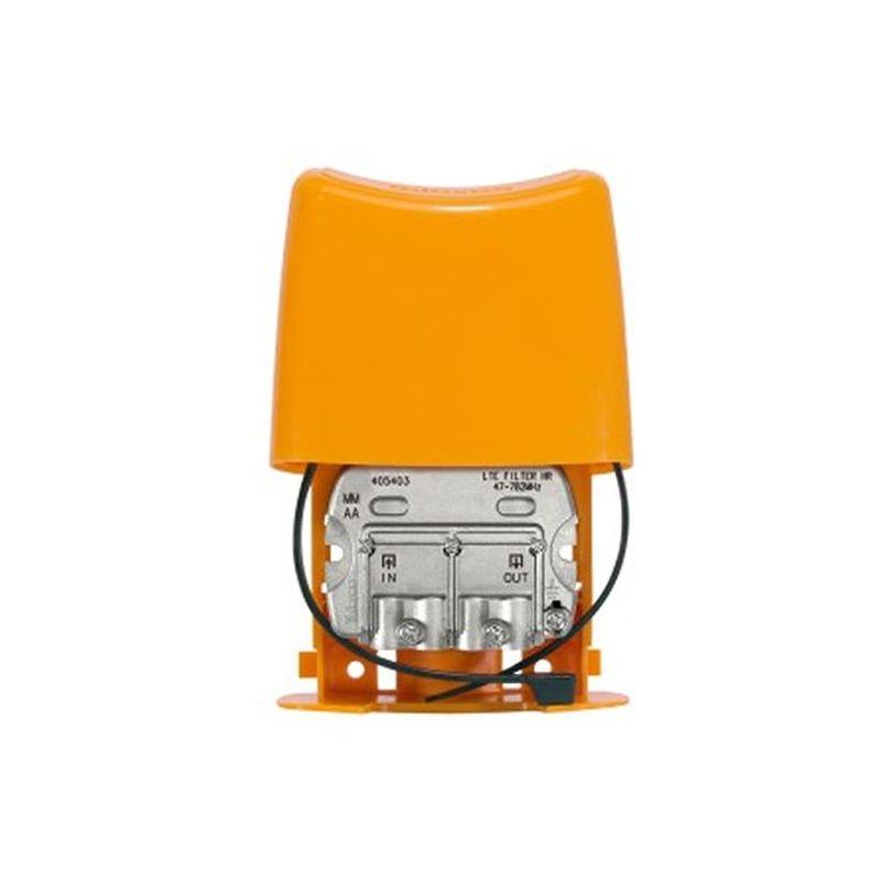 Filtre LTE 470...782MHz (C21-59), boitier extérieur Televes (DC)