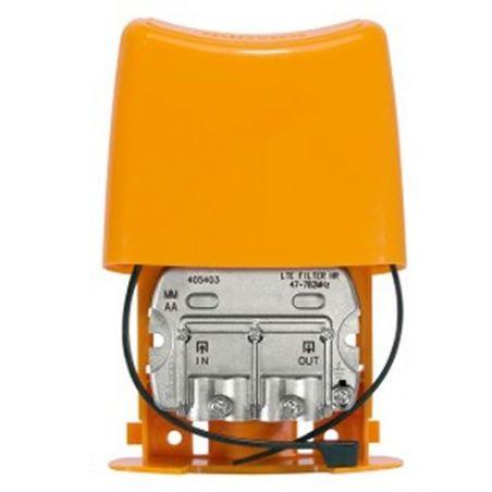 """Filtro LTE """"EasyF"""" 47...782MHz UHF (C21-59) Exterior Televes (con Paso de DC)"""
