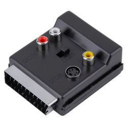 Euroconnector-Scart adapter...