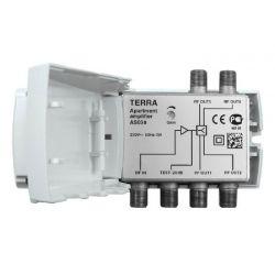 Amplificador Interior TDT/CABLE Terra 20 dB 4 salidas