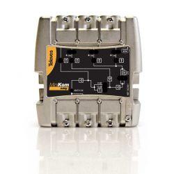 Central amplificadora Minikom 4e/1s FM-V-U-U Televes LTE