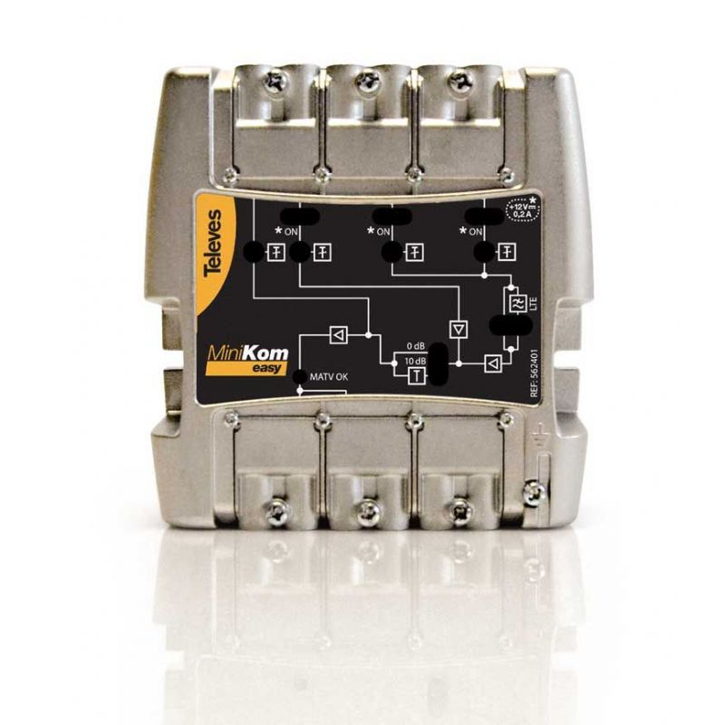 3 In/1 Out FM-V-U Televes LTE