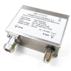 Promax CV-589: 5.8 GHz band converter