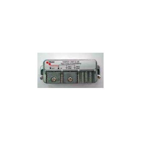 Derivador 2 salidas (Conexión clema fácil) 10db EST 2-10
