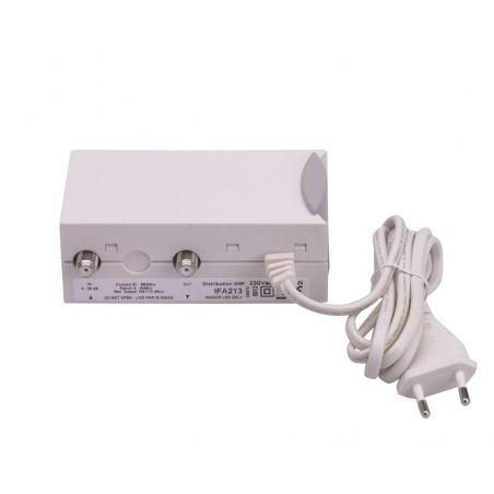 Amplificador Interior TDT/CABLE Triax IFA 213 20 dB 2 salidas