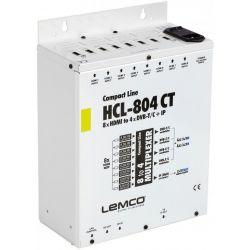 Lemco HCL-804CT Cabecera digital + IP streaming