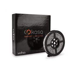 Veho Kasa - Fita LED RGB 7,2w/m 12v 3m 30 LEDs/m
