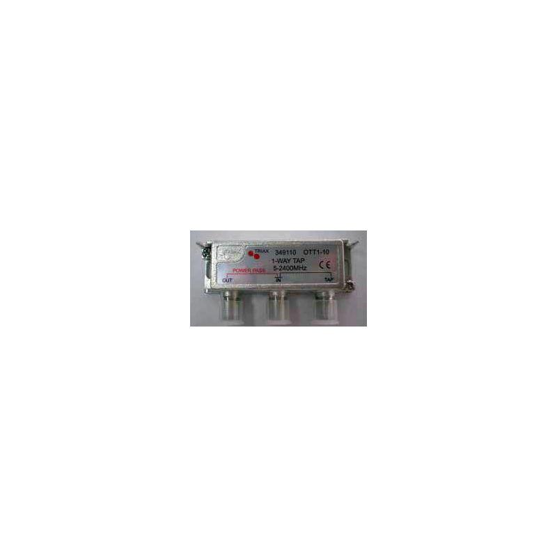 Derivador 1 salida (Conector F) exterior/interior 10db OTT 1-10