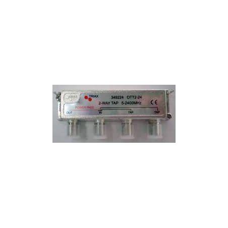Derivador 2 salidas (Conector F) exterior/interior 10db OTT 2-10