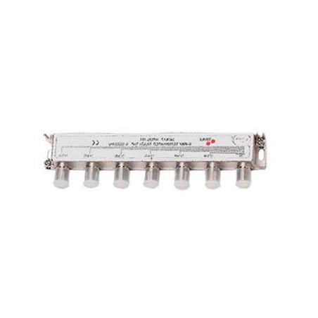 Derivador 4 salidas (Conector F) exterior/interior 12db OTT 4-12