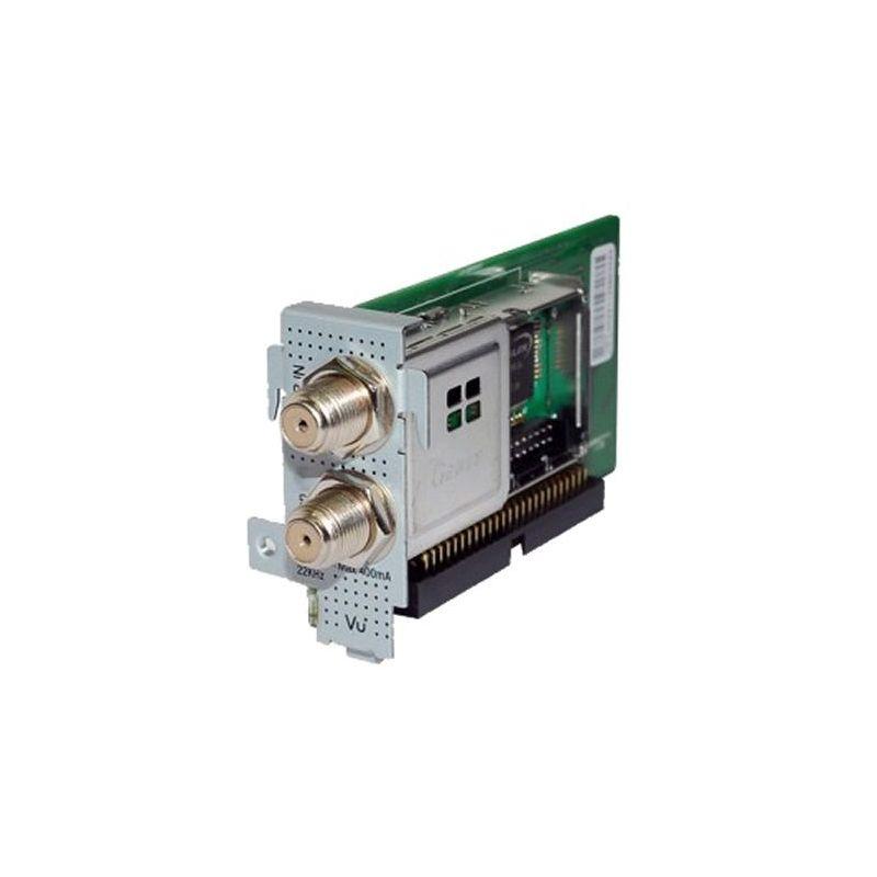 Tuner DVB-S2 dual Satelite Alta Definicion para Vu+ Uno, Ultimo, Solo se v2  y Duo2