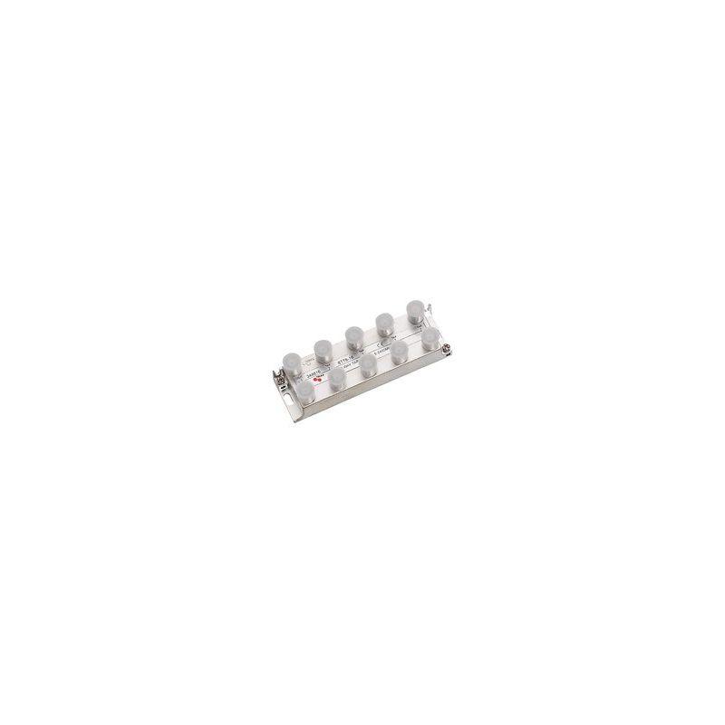 Derivador 8 salidas (Conector F) 16db STT 8-16