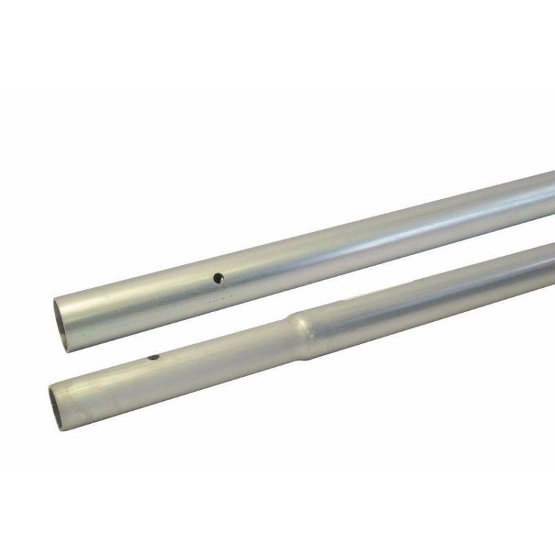 Mástil galvanizado enchufable 2000x40x1.5 mm. AMP029G/1