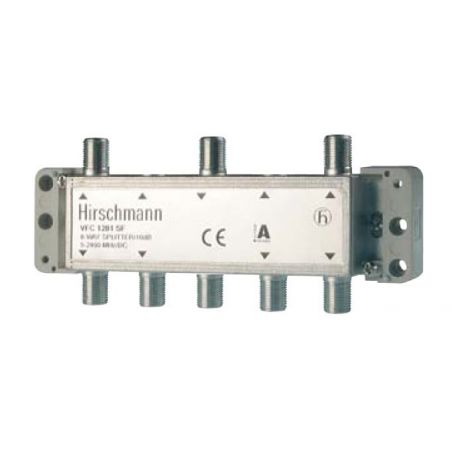 Distribuidor PAU serie VFC (con. F) 2 entradas/6 salidas asimetricas