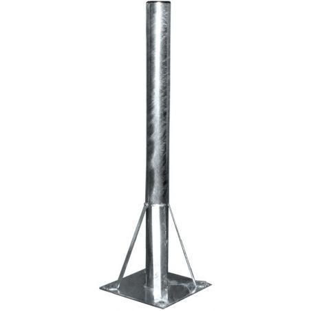 Soporte suelo de acero 80/850 mm para antenas hasta 180 cm