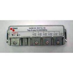 Distribuidor PAU serie EST (Clema fácil) 2 entradas/6 salidas asimetricas