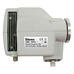 LNB Óptico 1310 FC/PC G 72dB sin Alimentador Televes