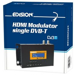 Edision modulator COFDM DVB-T HD with HDMI input and LTE filter