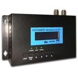 Icecrypt HDM100 modulateur COFDM DVB-T HD avec entrée HDMI et d'un filtre LTE