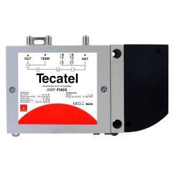 Central amplificadora FI con mezcla de terrestre Tecatel
