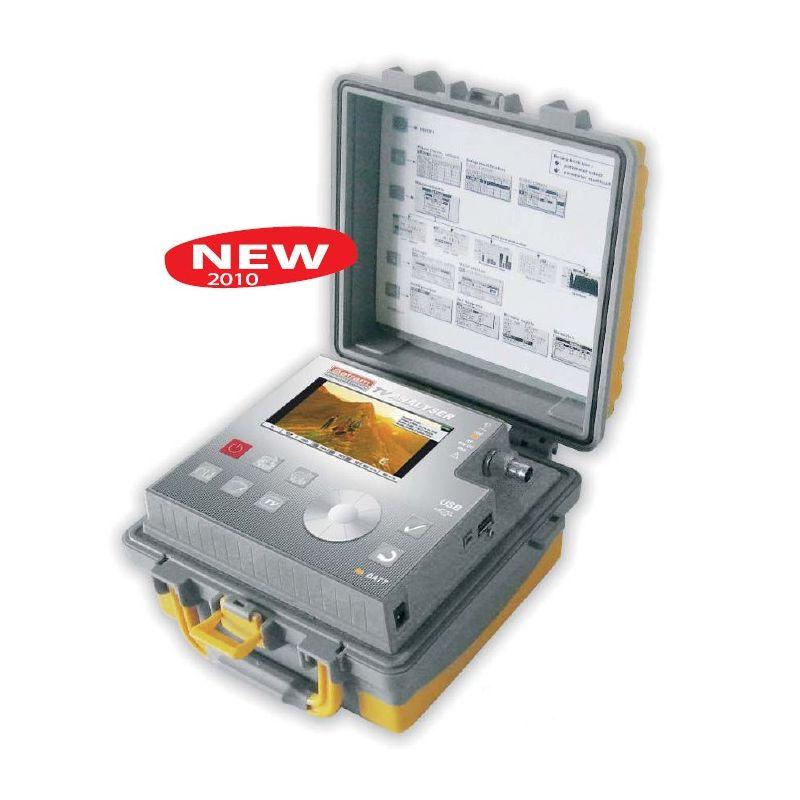 Medidor de campo SEFRAM DIGI METER 7806 DVB-T