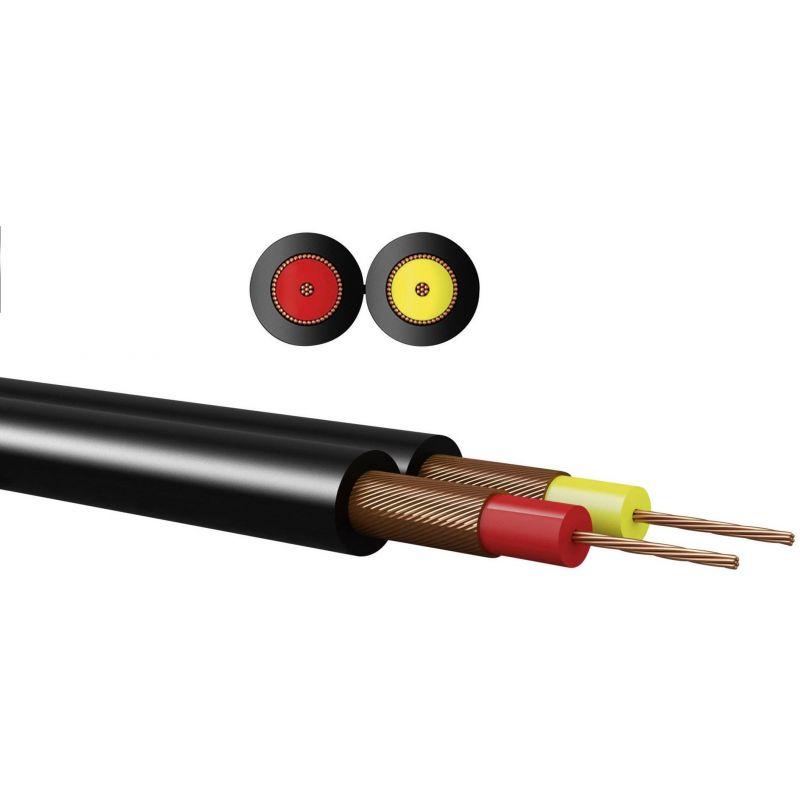 Cable de sonido estereo sin terminales 2 hilos x 0,14 mm 5m