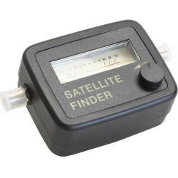 SatFinder com tom de sinal e cabo