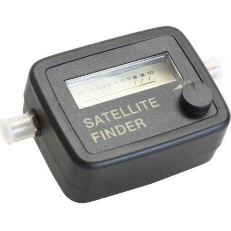 SatFinder de alta sensibilidad con señal por tono y cable