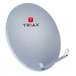 Triax TDA78 Euroline Antena parabólica de alumínio de 80cm. Triax 123760