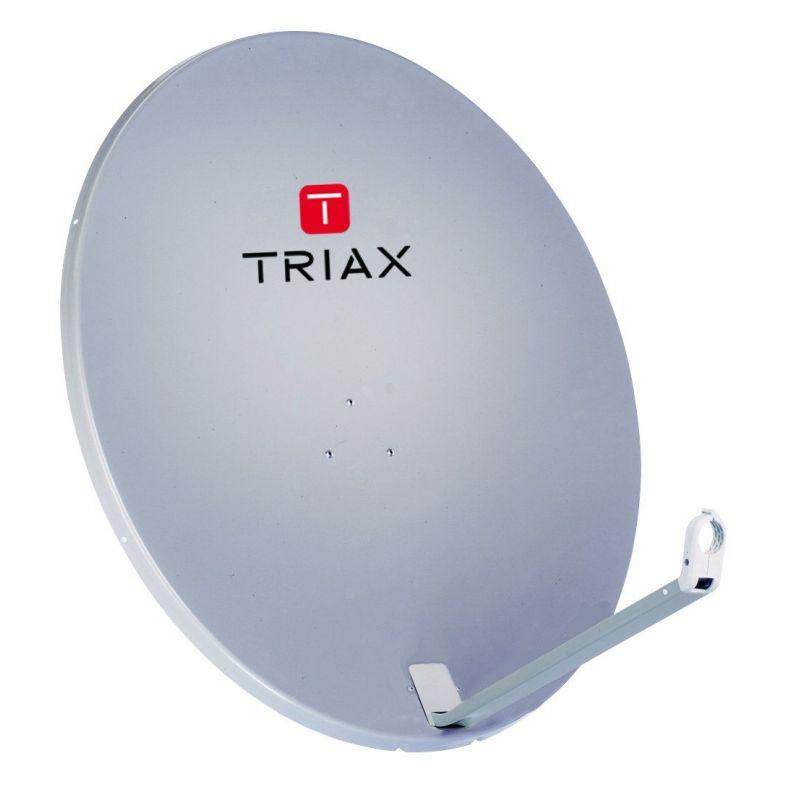 Triax TDA78 Euroline Antenne parabolique en aluminium 80cm. Triax 123760