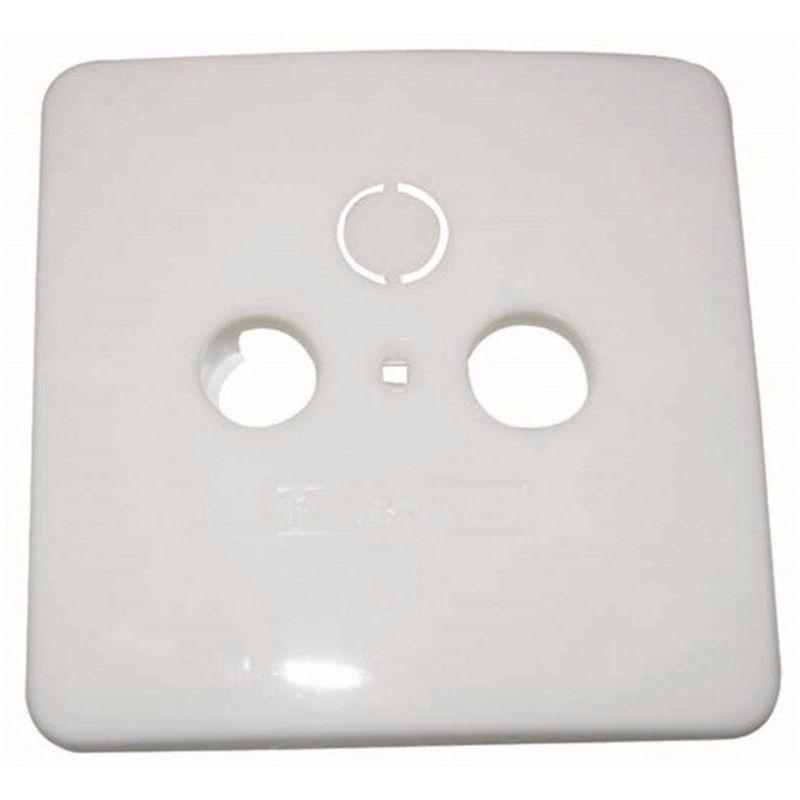 Triax AD23 Embellecedor para tomas EDS-GDS. Color blanco puro RAL 9013. Triax 302060