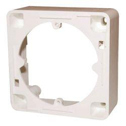 Triax AR 20 Cadre de montage en surface pour les prises, blanc pur. Triax 302062