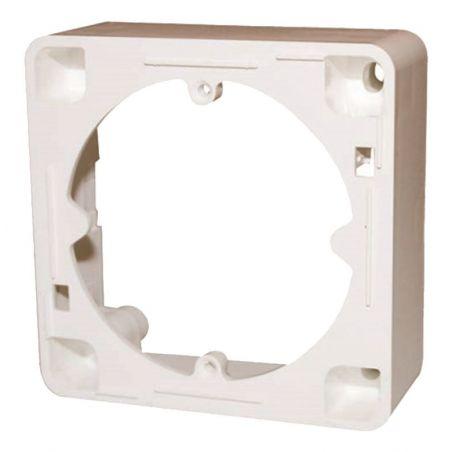 Triax AR 20 Marco de montaje en superficie para tomas, blanco puro. Triax 302062