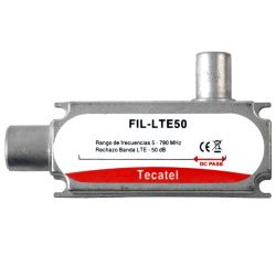 LTE/4G Filter 50dB Attenuation at C60 Tecatel FIL-LTE50