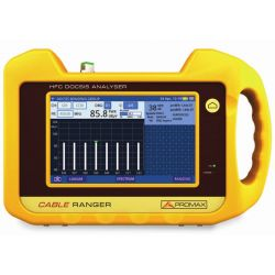 Promax Cable Ranger Hybrid DOCSIS 3.1 and HFC touchscreen analyzer