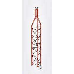 Section supérieure 3m pylône 450 couleur rouge Televes