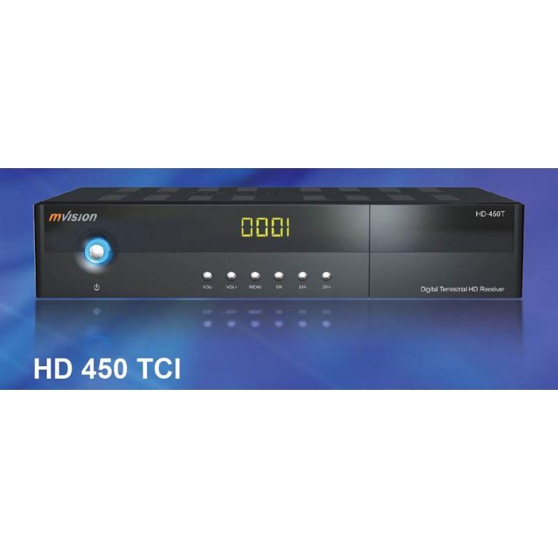 Receptor TDT Alta Definicion Mvision HD-450T PVR GRATIS HDMI