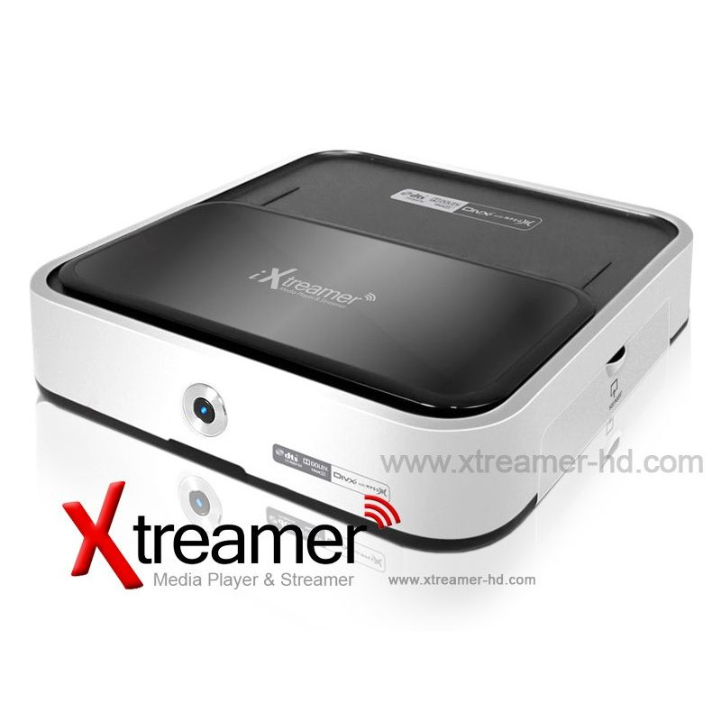 iXTREAMER mkv Disco Duro Multimedia Full HD 1080 compatible con Apple MAC