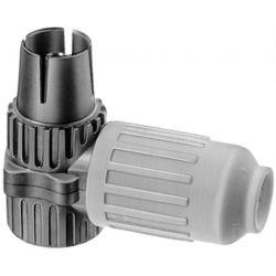 Triax KOSWI 3 Connecteur à angle femelle coaxial IEC. Triax 153111