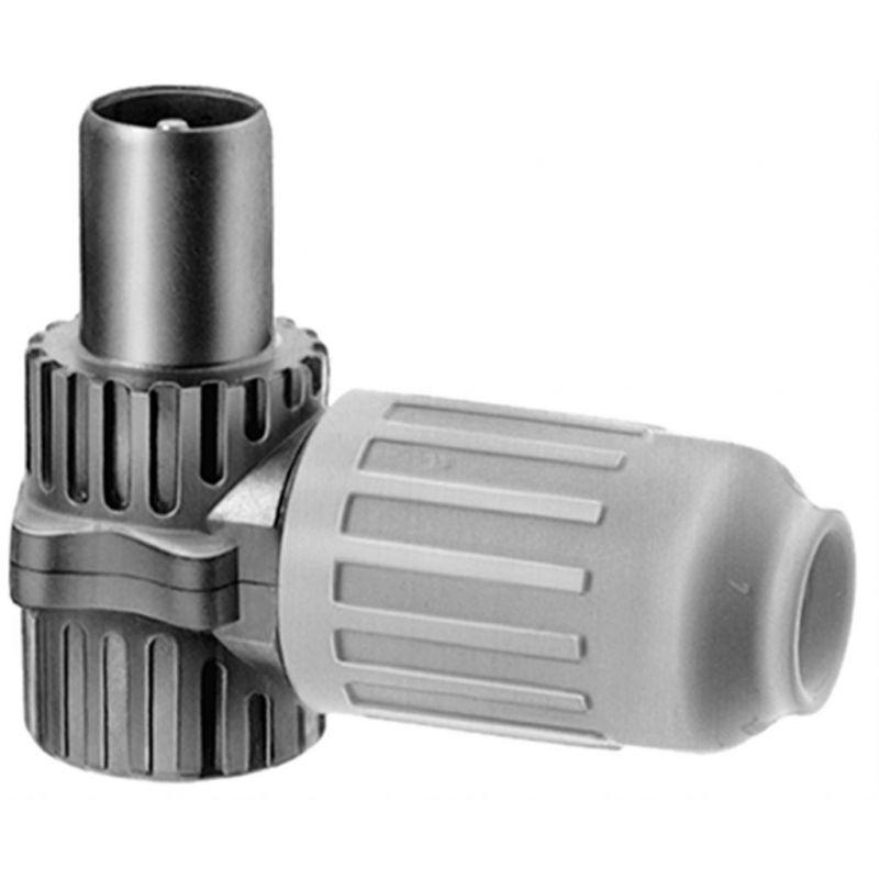 Triax KOSWI 3 IEC coax male angled plug