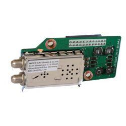 Double tuner DVB-S2X pour Gigablue X2, UHD Quad 4K et UHD UE 4K