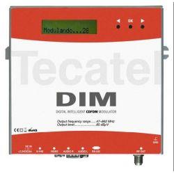 Modulador DIM TDT TV Digital Terrestre VHF UHF tecatel