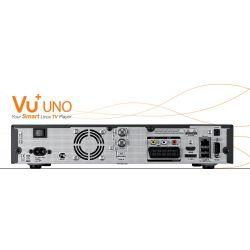 Vu+ UNO Tuner TDT/SAT/CABLE PVR 1080 HDMI Enigma2