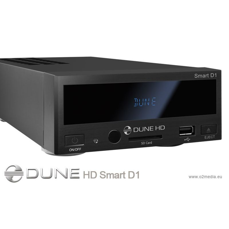 DUNE HD SMART D1 HD Disco Duro Multimedia 1080 TDT opcional