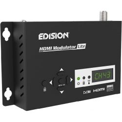 Edision HDMI Modulador Lite Single HDMI a DVB-T