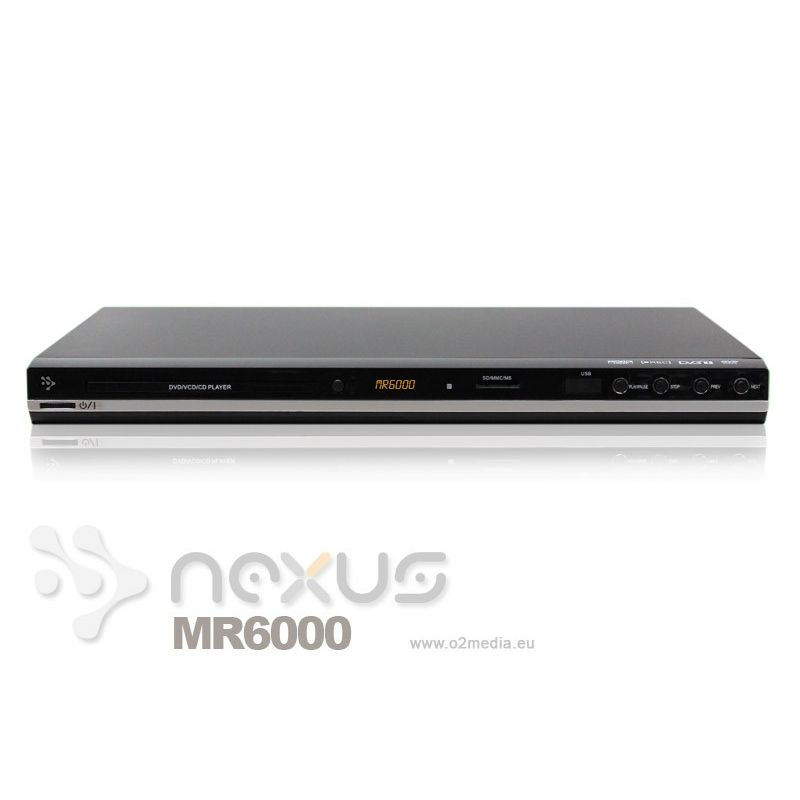 MR6000 DVD Dual tuner TDT HD Multimedia Full HD PVR DVB-T